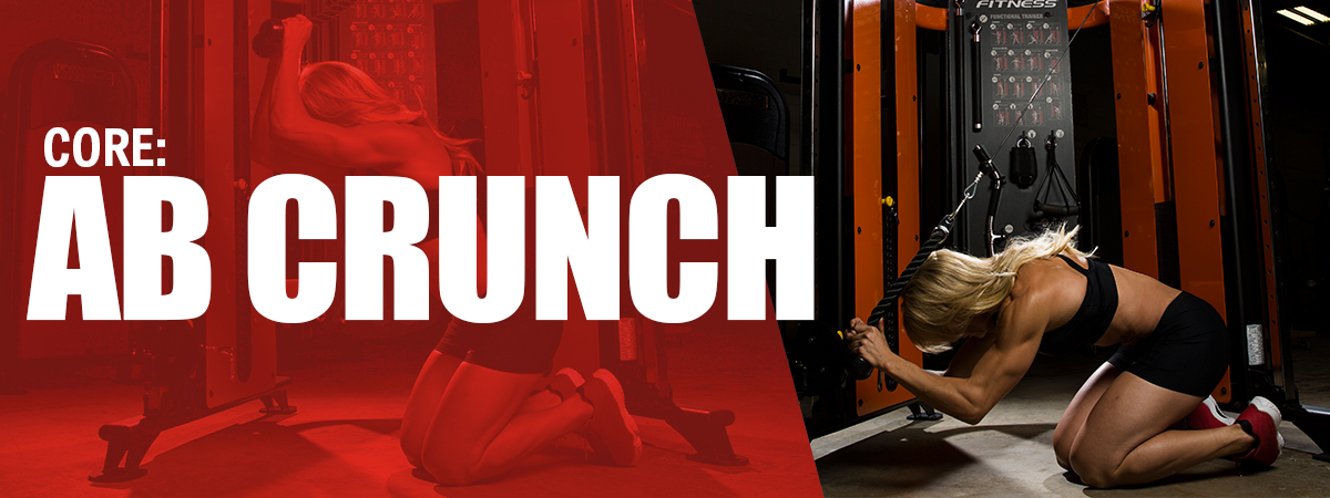 Quick Full Body Workout on the SelectEDGE Functional Trainer - Core: Ab Crunch