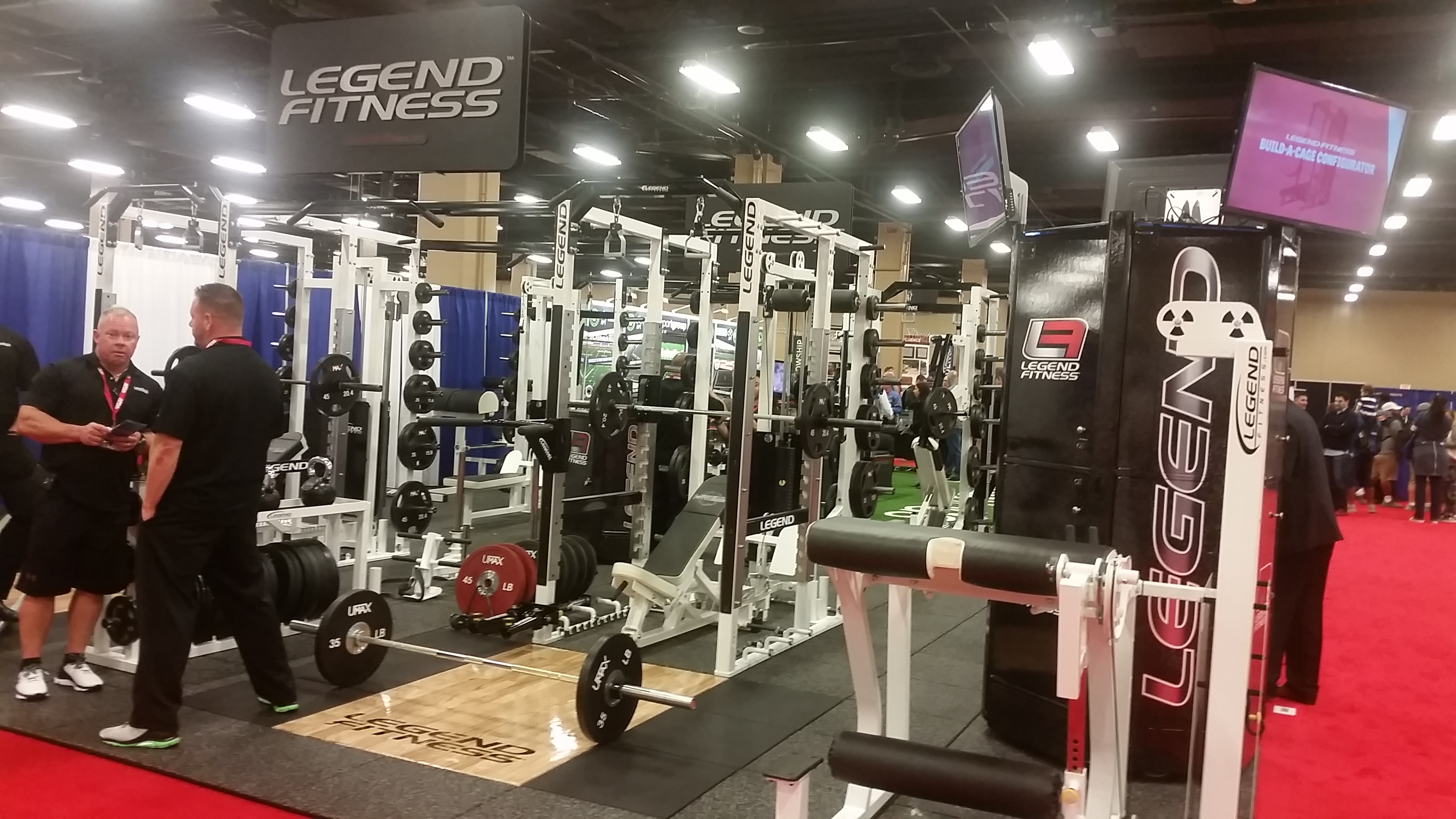 Afca Convention 2017 Legend Fitness Legend Fitness