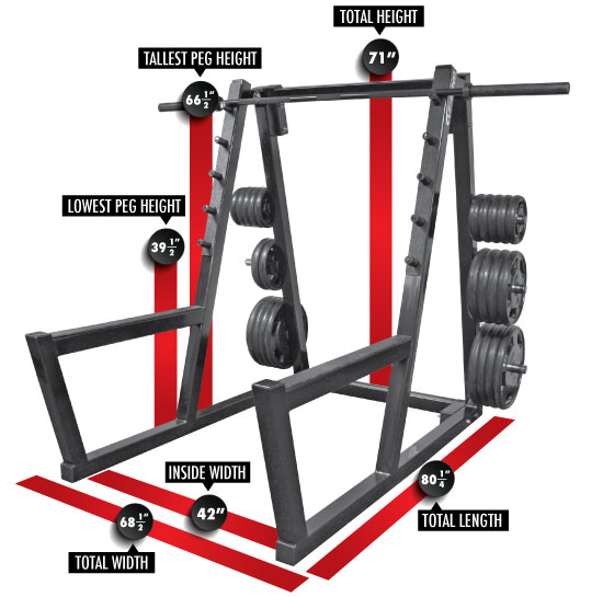 home rack outdoors com dp gyms racks body sports squat amazon powerline solid