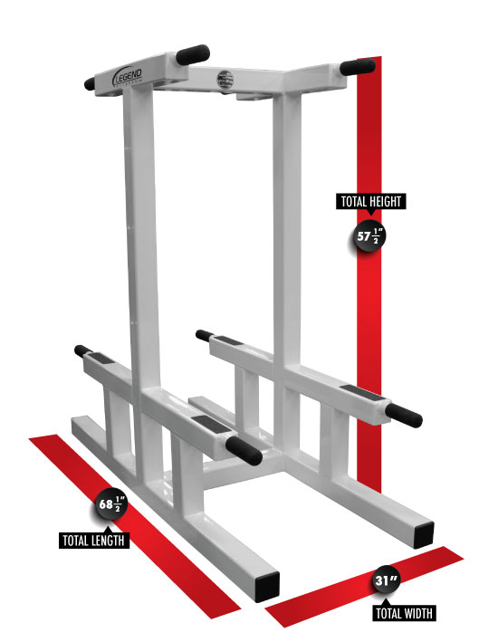 3146 Double Dip Stand Dimensions