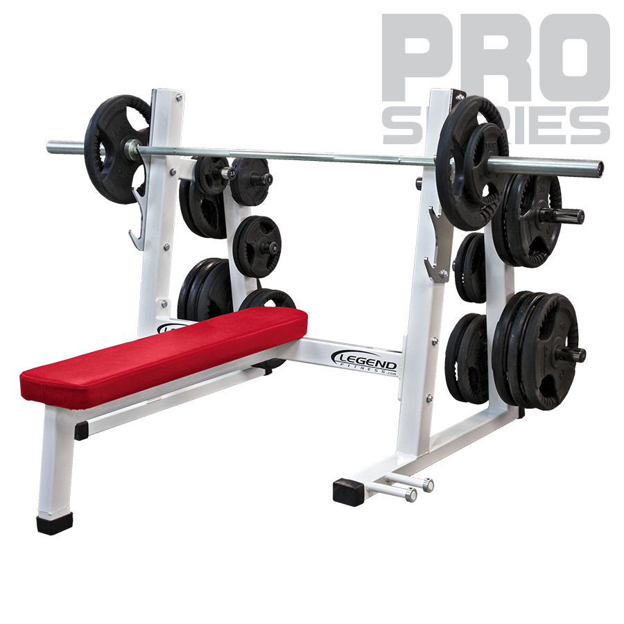 Competition Bench For Sale Part - 29: Pro Series Olympic Flat Bench