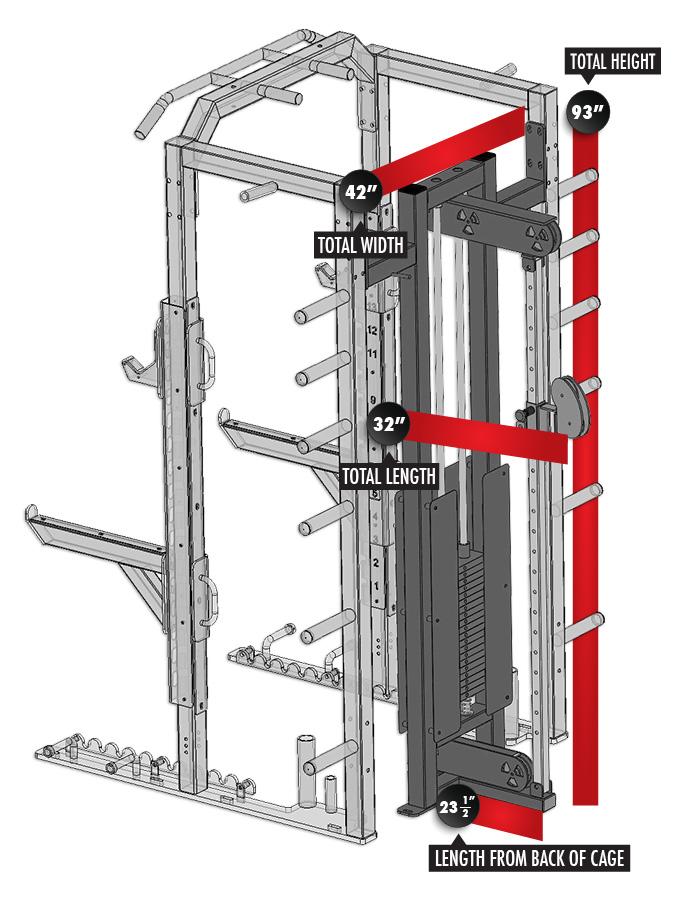 3268-F3 Fusion 3 Cable Column Module