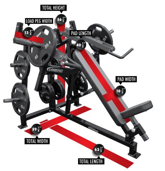 SelectEDGE Incline Chest Press