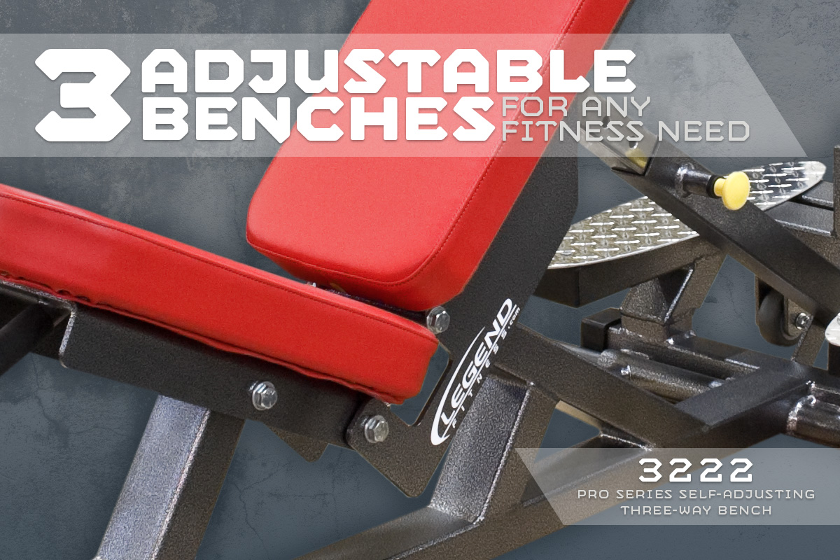 Three Adjustable Benches for Any Fitness Need
