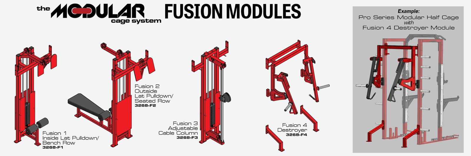 Modular System Fusion Modules