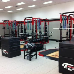 Penske Racing Corporate Weight Room