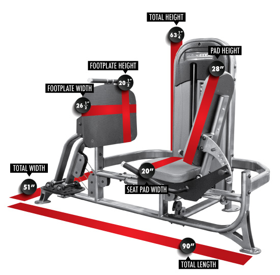 11109 SelectEDGE Leg Press