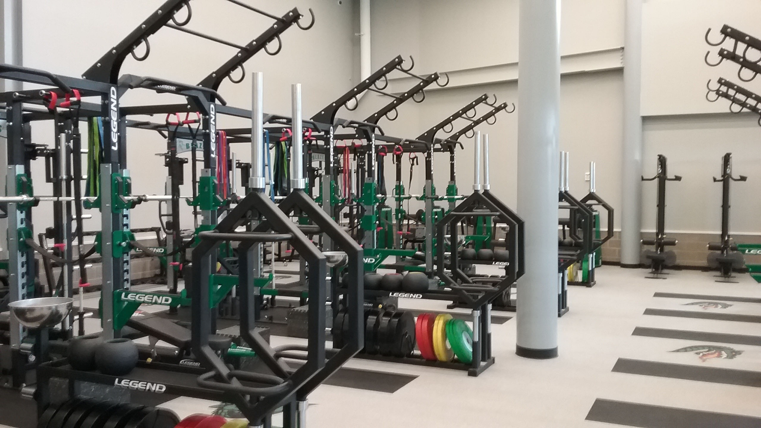 University of Alabama Birmingham weight room