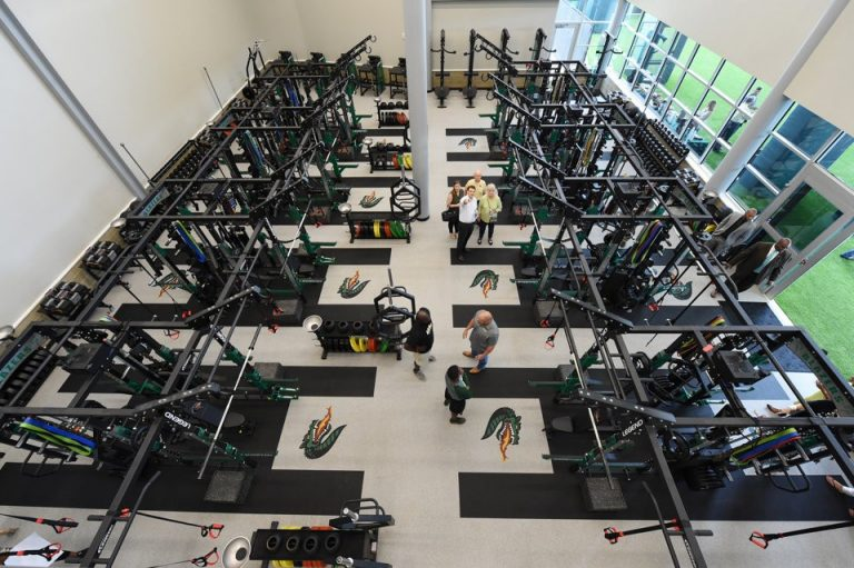 UAB weight room 2