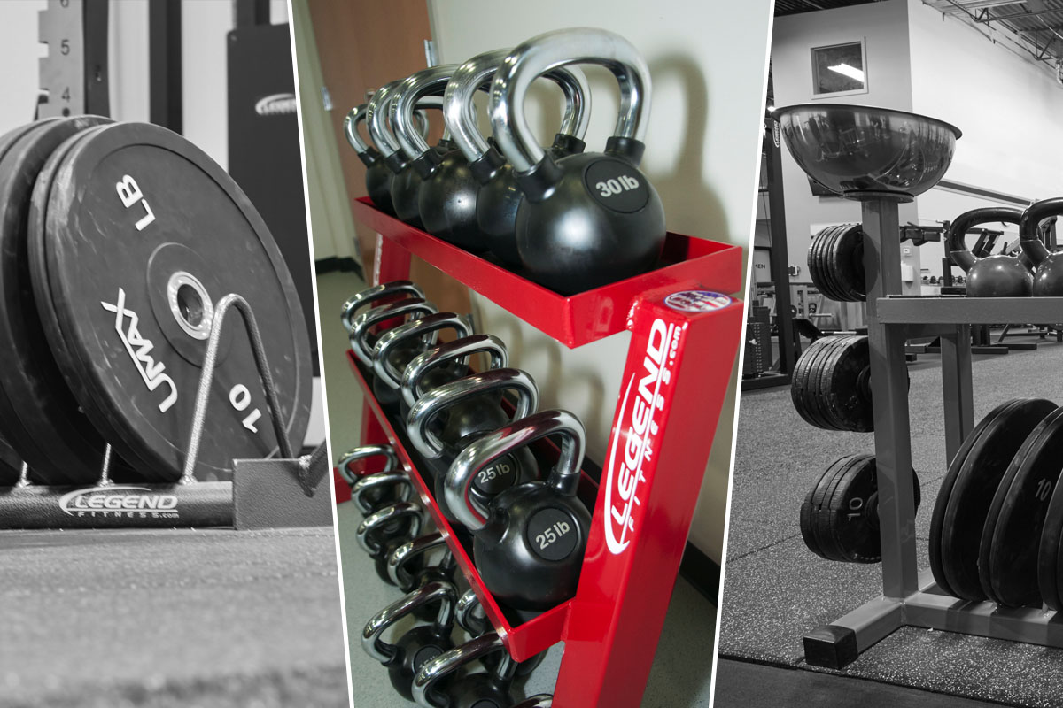 Keep it clean equipment storage options for your gym legend