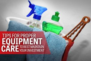 Proper Care of Your Fitness Equipment