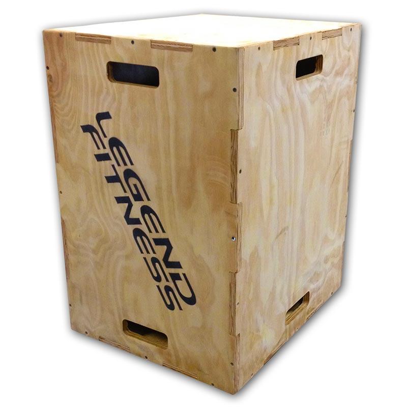 Wood Plyo Box 3-in-1