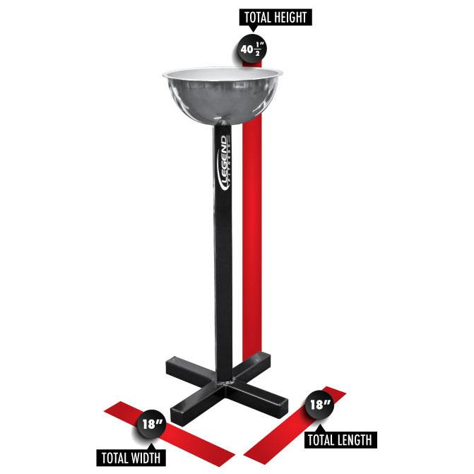 3259 Chalk Bowl/Pedestal Dimensions
