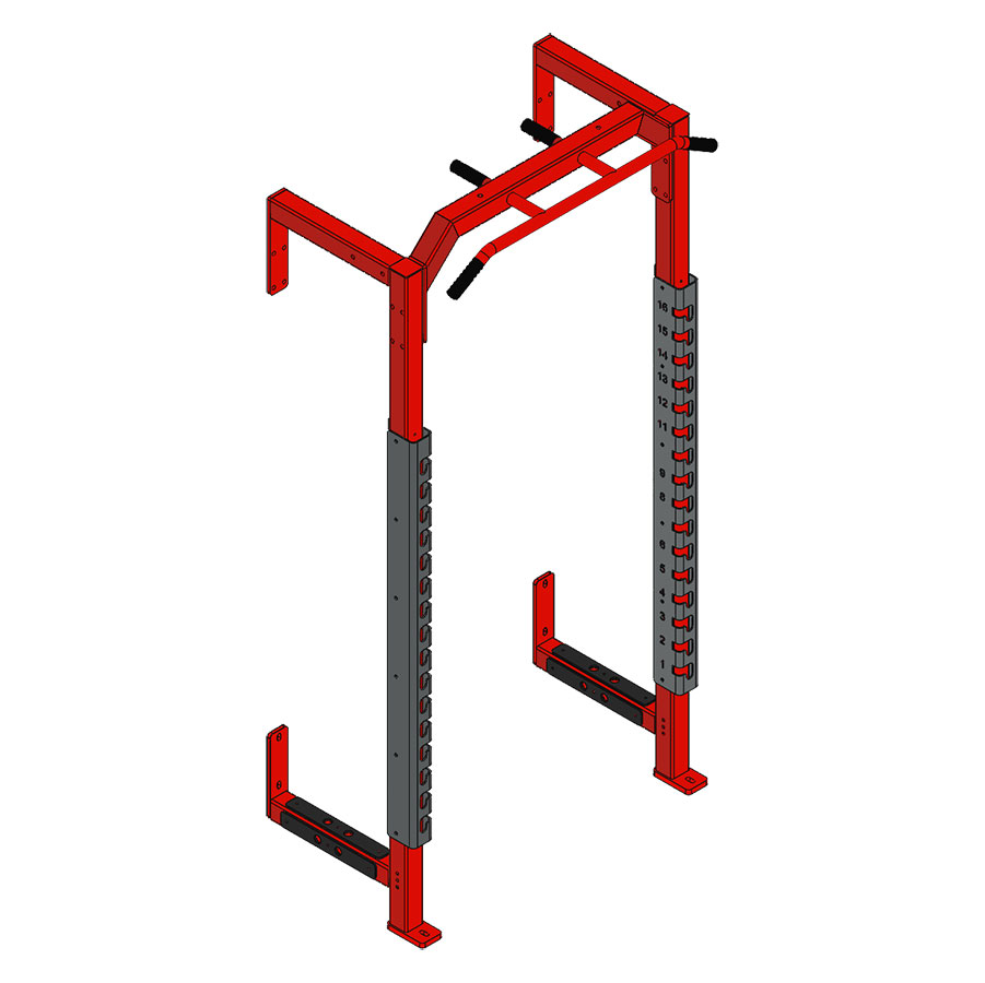 Fusion 5 Half Cage Module with Multi-Grip Pull Up Bar