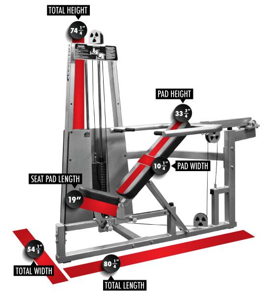 963 Multi Press Dimensions