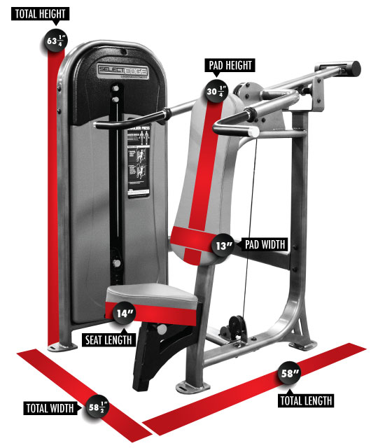 1101 SelectEDGE Shoulder Press