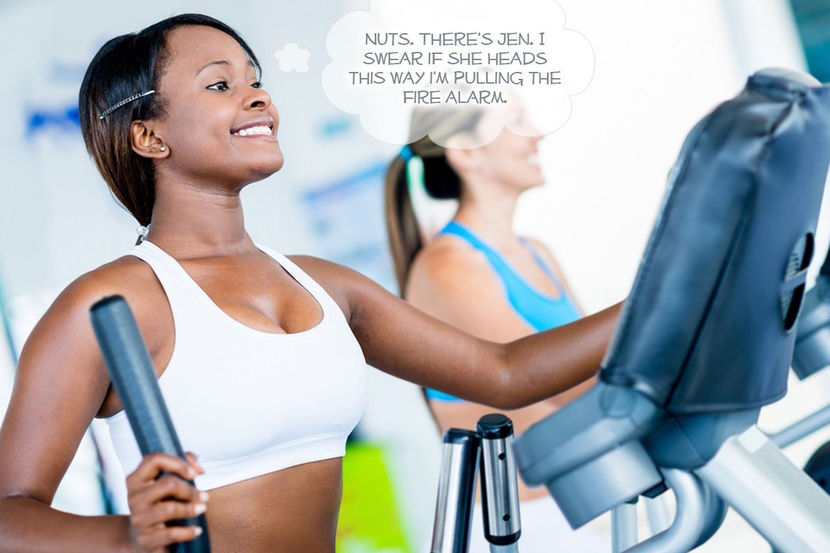 4 Ways to Escape the Gym Chatterbox