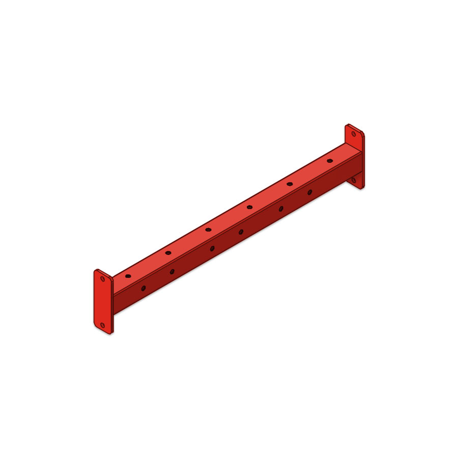 Continuum 4-Foot Horizontal Modular Bar Connector