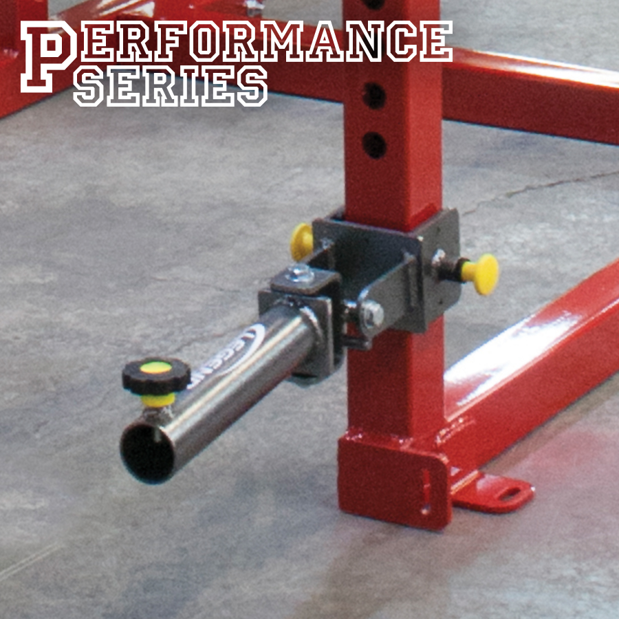 A Legend Fitness Performance Series cage with a Single Landmine attachment as the focus.