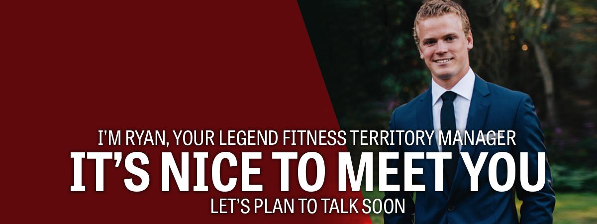 Legend Fitness Territory Manager Ryan Walker